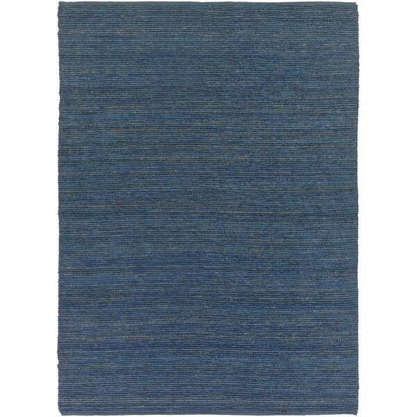 Bonnett Hand-Woven Blue Area Rug by Wrought Studio