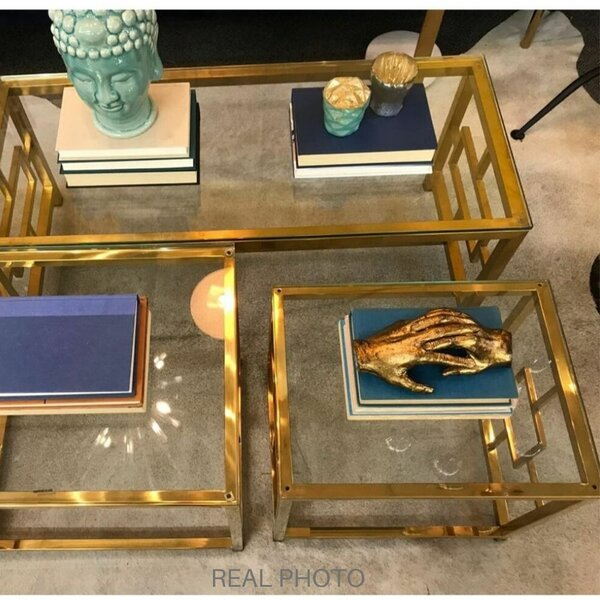 Bailes 3 Piece Coffee Table Set by Mercer41 Mercer41