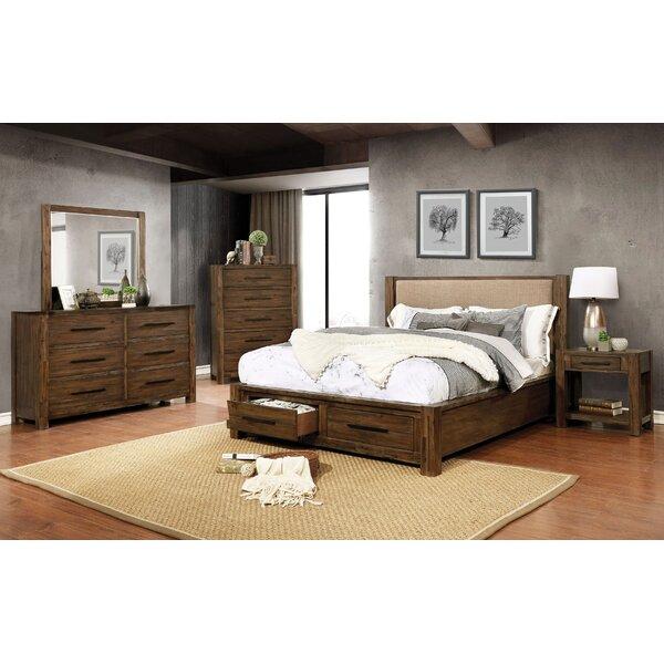Shellenbarger Storage Platform Configurable Bedroom Set by Union Rustic
