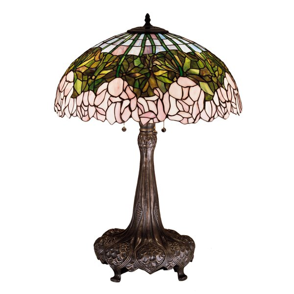 Cabbage Rose 31 Table Lamp by Meyda Tiffany
