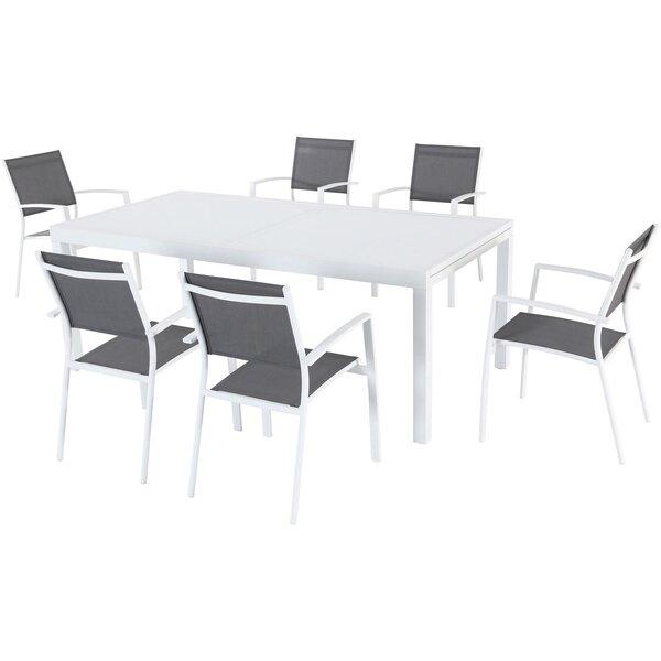 Lebron 7 Piece Patio Dining Set