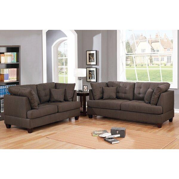 Tarakan 2 Piece Living Room Set by Winston Porter