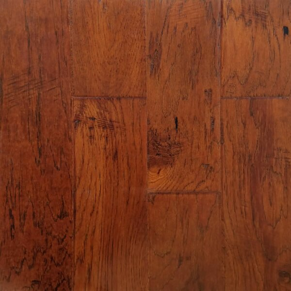 Manchester 5 Engineered Hickory Hardwood Flooring in Silo by Welles Hardwood