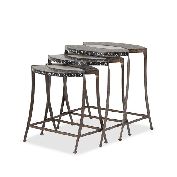 Discoveries 3 Piece Nesting Tables by Michael Amini
