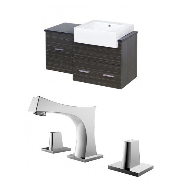 Alican 37 Wall-Mounted Single Bathroom Vanity Set