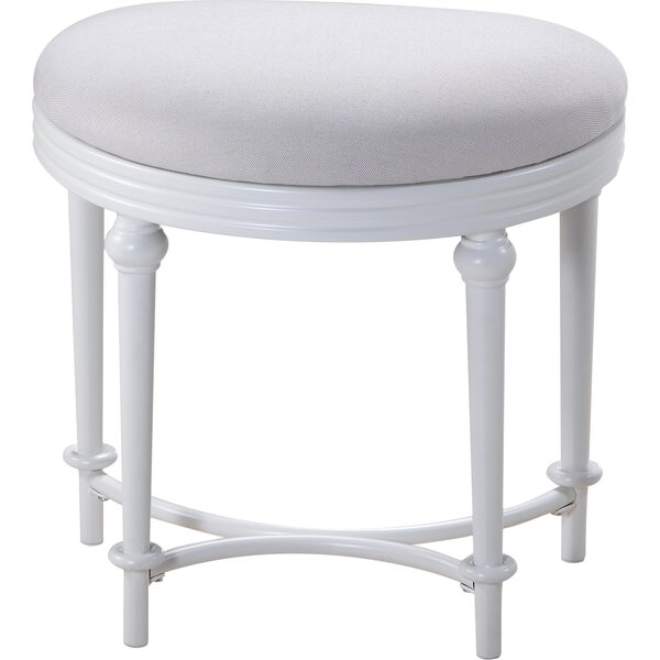 Hampton Vanity Stool by Hillsdale Furniture
