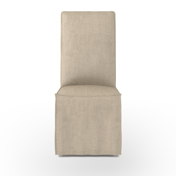 Slipcovered Upholstered Dining Chair by Design Tree Home