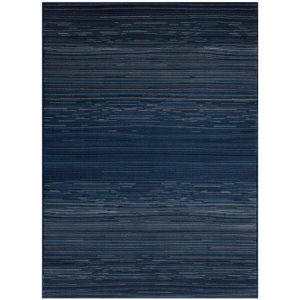 Jagruti Rectangle Thunder Blue Area Rug by 17 Stories
