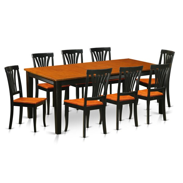 Loraine 9 Piece Dining Set by Red Barrel Studio
