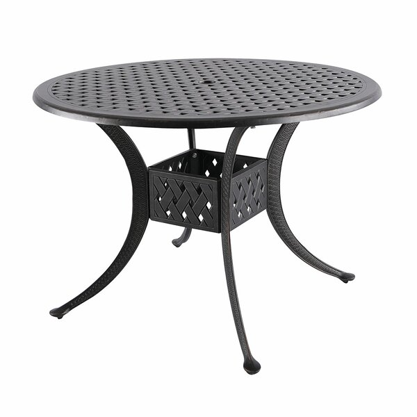 Cobblestone Dining Table by Fleur De Lis Living