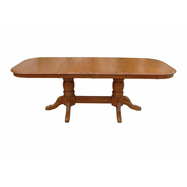 Asher Solid Wood Dining Table By Canora Grey