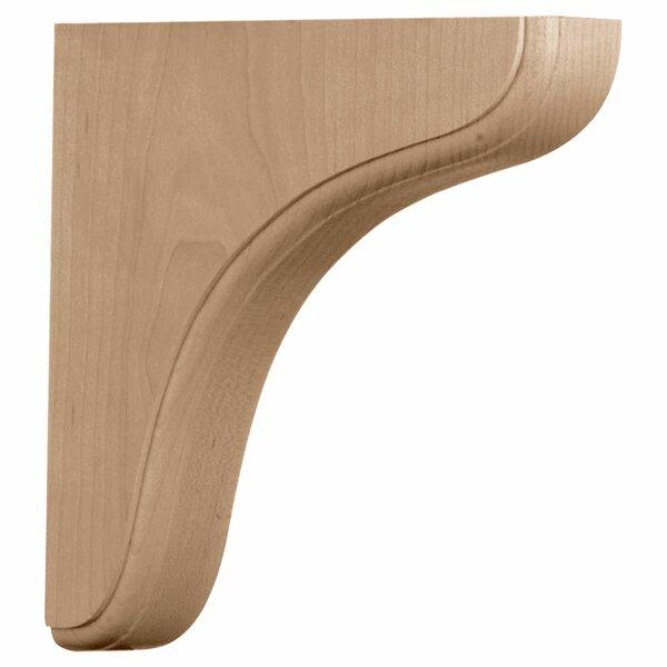 Eaton 7 1/2H x 1 3/4W x 7 1/2D Wood Bracket in Red Oak by Ekena Millwork
