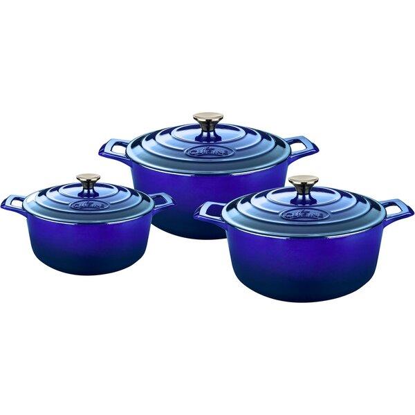Round Casserole Set by La Cuisine
