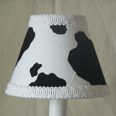 Cowhide Night Light by Silly Bear Lighting