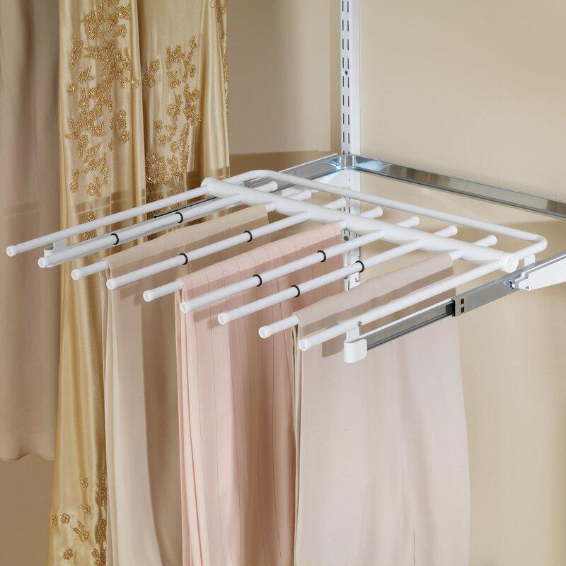 Exceptional Configurations Closet Sliding Pants Rack
