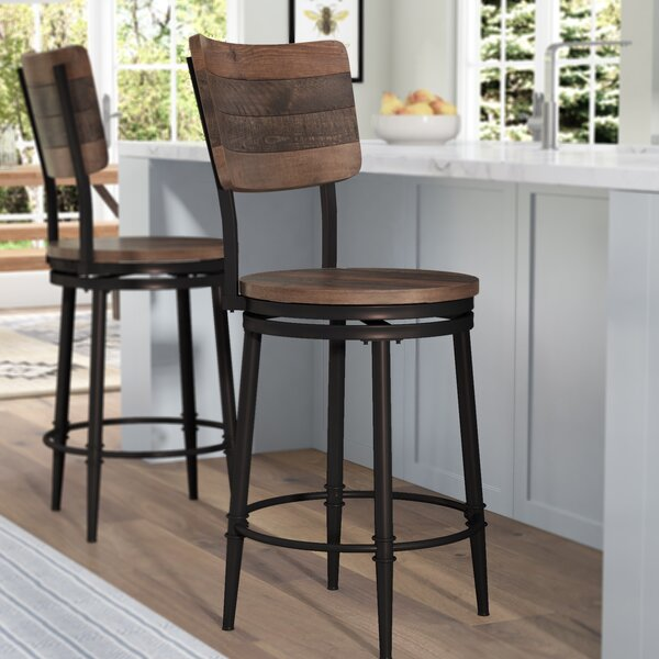 Cathie 30 Swivel Bar Stool by Gracie Oaks