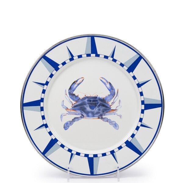 Harbor Crab Dinner Plate (Set of 4) by Birch Lane™