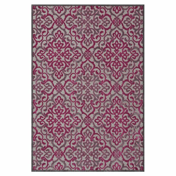 Sorrento Pink Area Rug by Darby Home Co