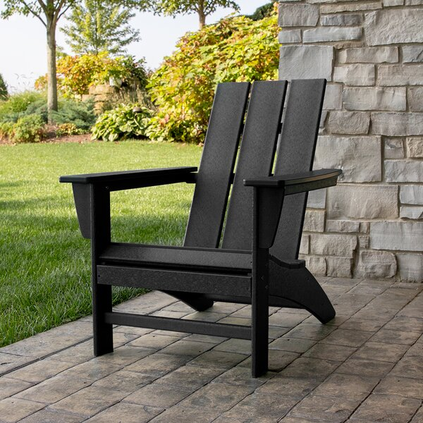Modern Adirondack Recycled Plastic Chair By POLYWOOD®