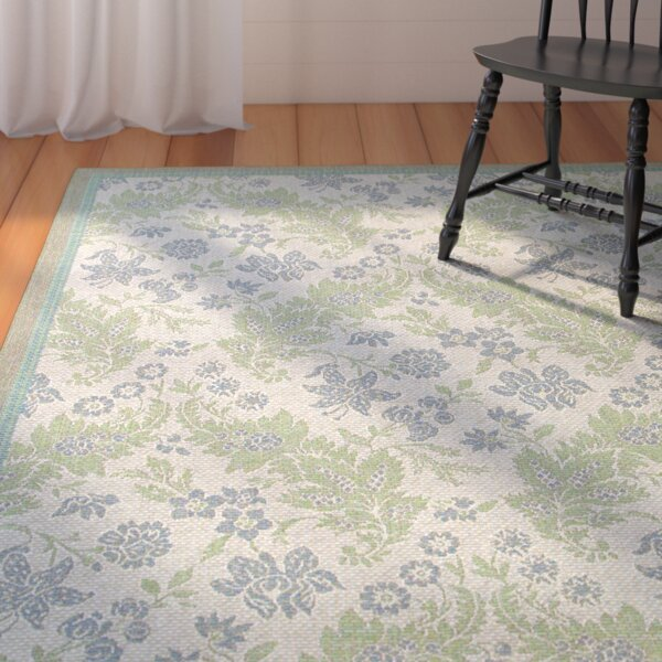 Avallon Champagne Indoor/Outdoor Area Rug by August Grove