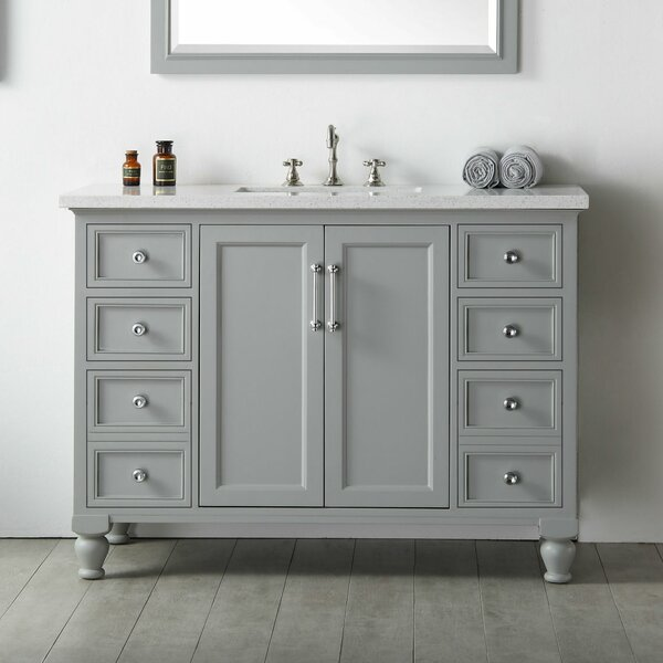 Pondella 48 Single Bathroom Vanity by Gracie Oaks