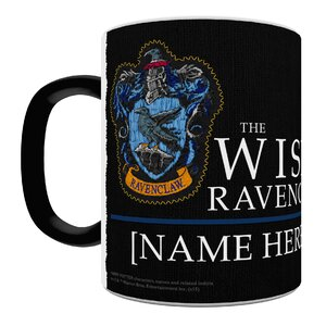 Harry Potter Ravenclaw Robe Personalized Heat Sensitive  Coffee Mug