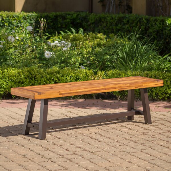 Mersey Outdoor Wood Picnic Bench by Trent Austin Design
