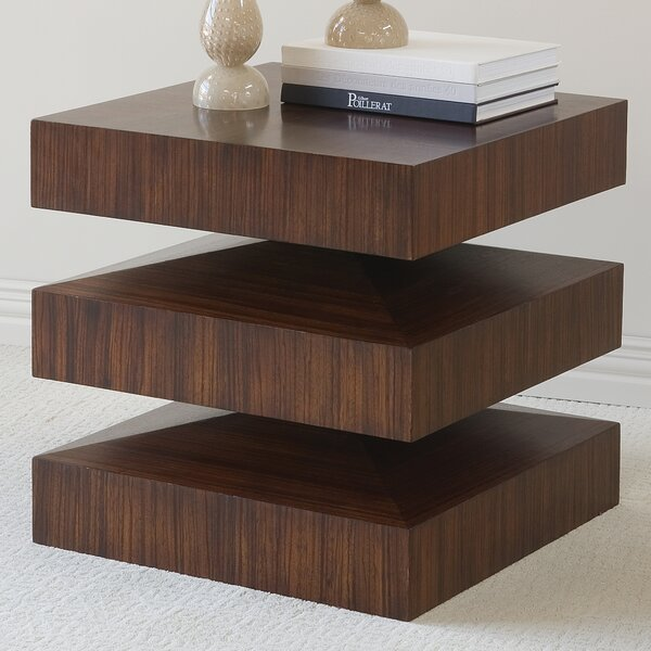 Draw Attention End Table By Global Views