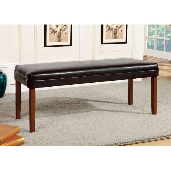 Grandfield Faux Leather Bench by Red Barrel Studio Red Barrel Studio