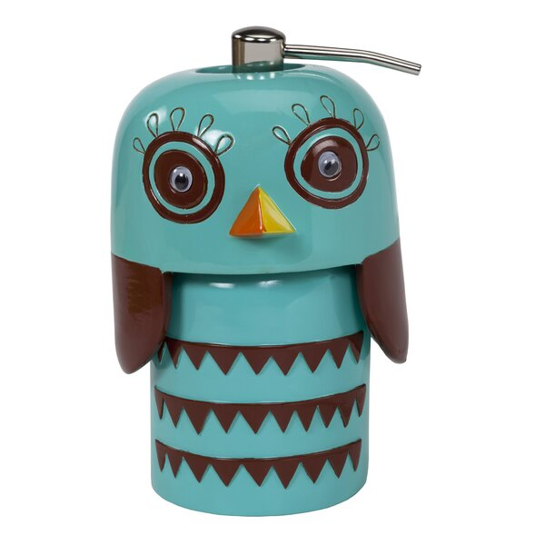 Hepler Hoot Lotion Dispenser by Zoomie Kids