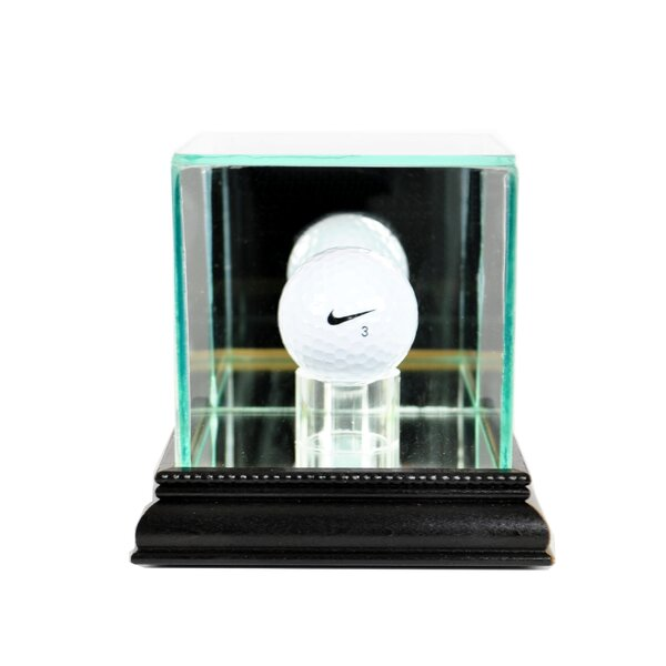 Golf Ball Display Case by Perfect Cases and Frames