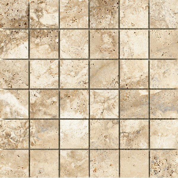 Cabo 2 x 2 Ceramic Mosaic Tile in Coast by Emser Tile
