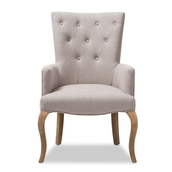 Hershberger Armchair by Gracie Oaks