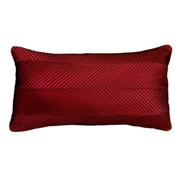 Amandes Chevron Cord Lumbar Pillow by Astoria Grand| @ $51.99