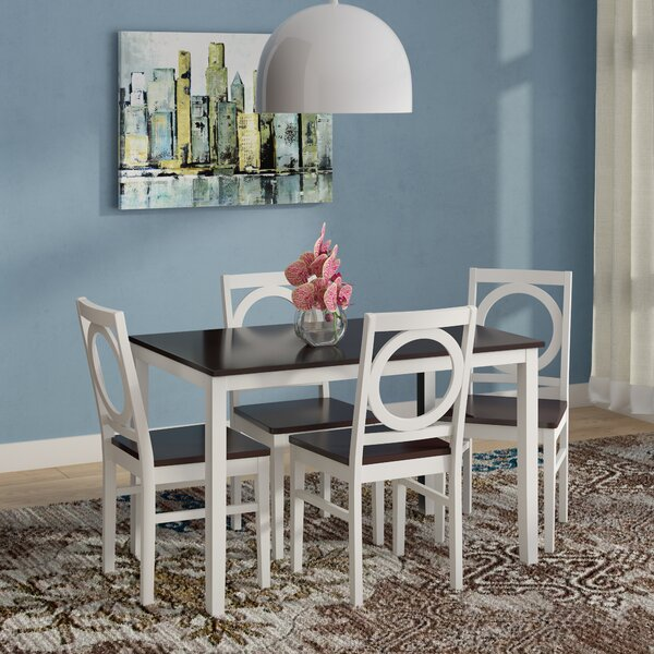 Cassius 5 Piece Dining Set by Andover Mills