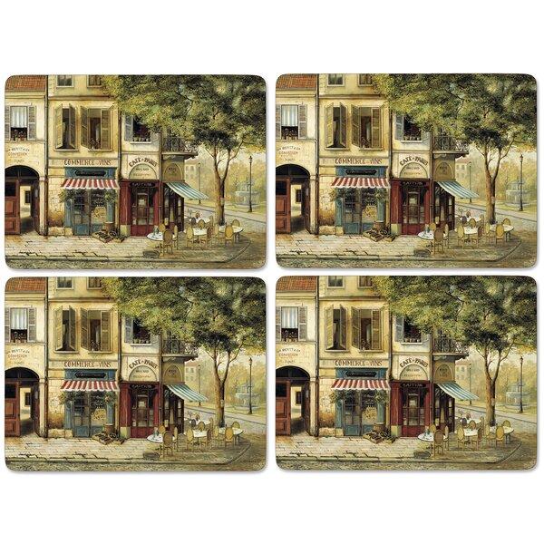 Parisian Scenes Placemat Set (Set of 4) by Pimpernel