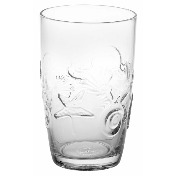 Cady 18 Oz. Highball Glass (Set of 4) by Beachcrest Home