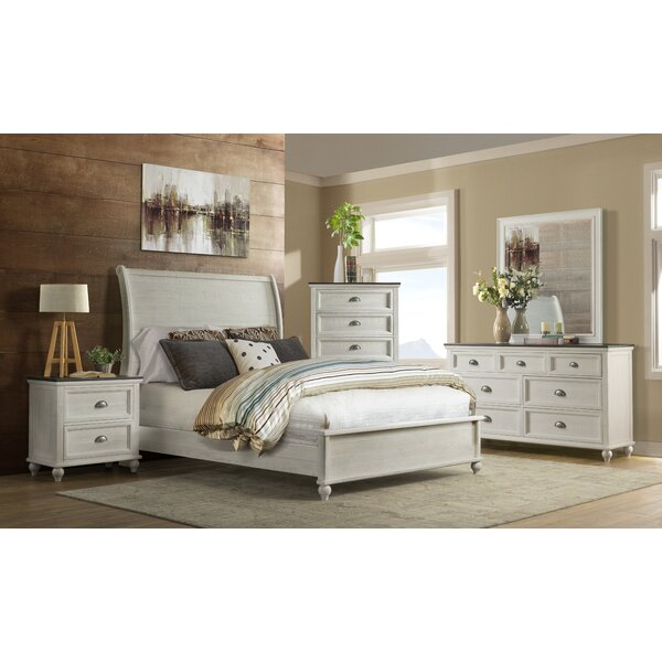 Risner Sleigh Configurable Bedroom Set by Gracie Oaks