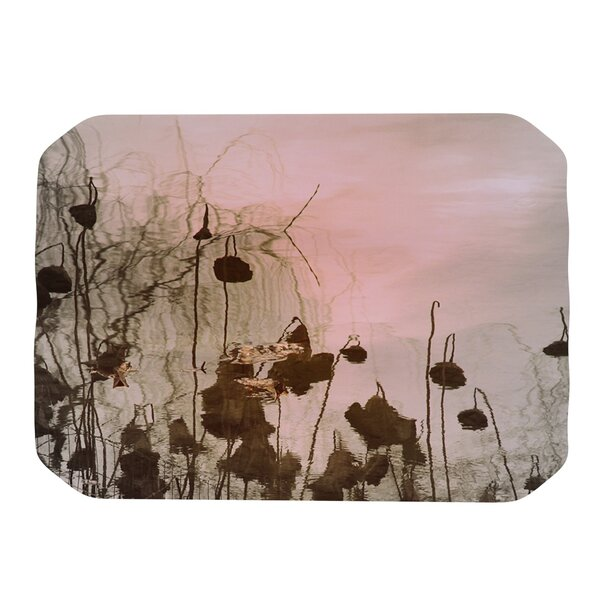 Lotus Dream Placemat by KESS InHouse