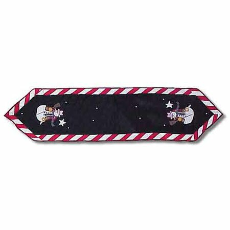 Frosty Snowman Table Runner by Patch Magic