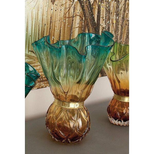Glass Vase by Cole & Grey