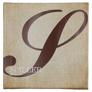 Calligraphy Monogram Textual Art on Canvas by Charlton Home