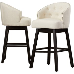 Venice Tufted Barstool (Set of 2)