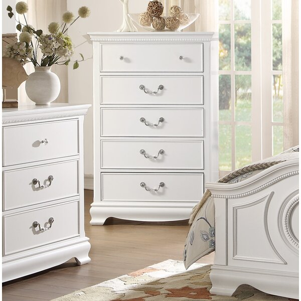 Offerman 5 Drawer Chest By Harriet Bee by Harriet Bee Cool