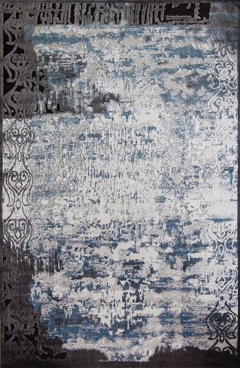 Emme Blue/Brown Area Rug by 17 Stories