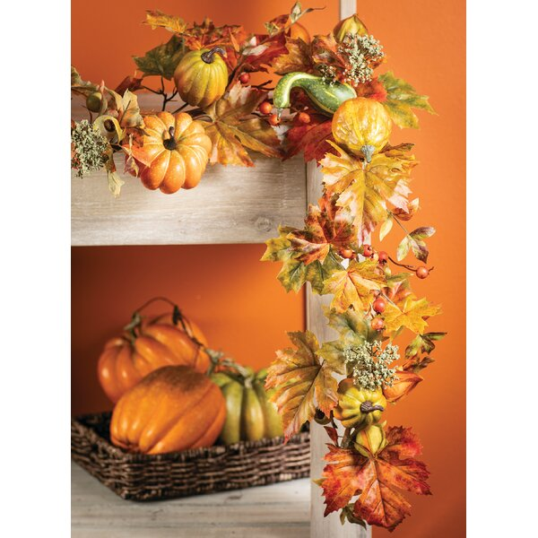 Fall Foliage Garland by Andover Mills