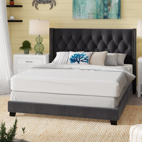Anner Upholstered Standard Bed by Charlton Home