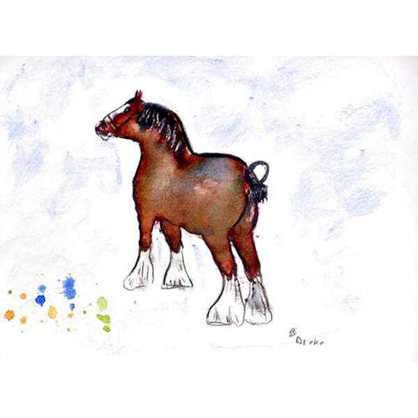 Clydesdale Placemat (Set of 4) by Betsy Drake Interiors