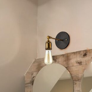Check Prices Camile 1-Light Armed Sconce By Williston Forge