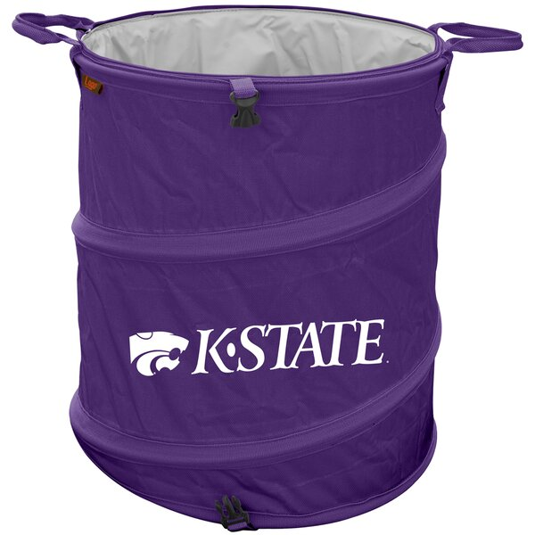 Collapsible 3-in-1 13 Gallon Trash Can by Logo Brands